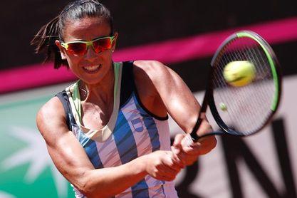 La argentina Paula Ormaechea se clasifica para los cuartos de final