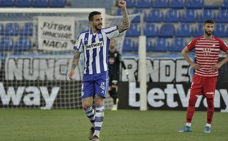 Primer amistoso del Alavés y Joselu no se viste.