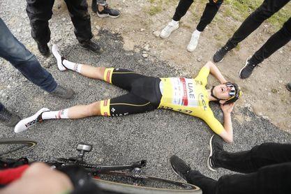 Pogacar ratifica su poderío en la etapa reina, Mas se aleja del podio
