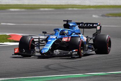 """Alonso: """"Me divertí la primera vuelta; luego no fue un sprint, fue un maratón"""""""