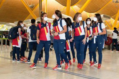El equipo olímpico español retrasa su vuelo