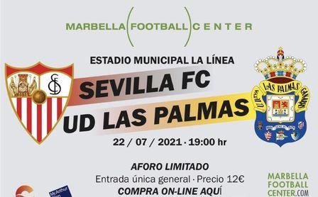A la venta las entradas para el amistoso de este jueves frente a Las Palmas.