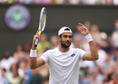 Berrettini, finalista en Wimbledon, baja para Tokio 2020 por lesión