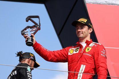 """Leclerc: """"Lo di todo, pero no fue suficiente"""""""