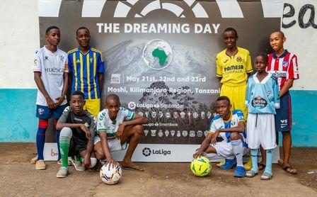 El Real Betis echa una mano en Tanzania