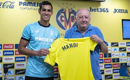 """Mandi: """"Cuando el Villarreal te llama, no hay que pensar mucho""""."""