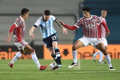 1-3. Sao Paulo elimina a Racing y espera por Universidad Católica o Palmeiras
