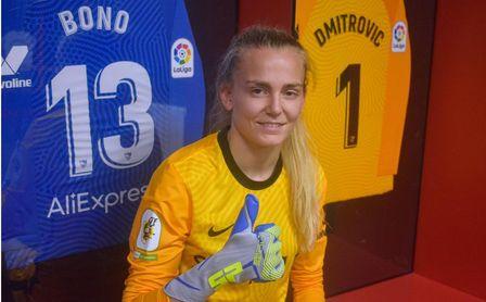 El Sevilla FC Femenino refuerza la portería con Esther Sullastres.
