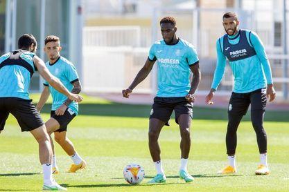 El Villarreal se concentra en Algorfa y se mide mañana al Olympique de Lyon