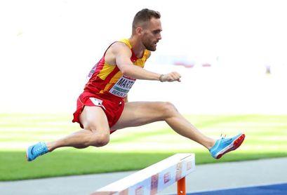 Sebastián Martos afronta sus segundos Juegos con el reto de llegar a la final