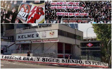 """Las peñas del Alcorcón rechazan por """"fascista"""" a Zozulia, que ya pasó por algo así en su cesión del Betis al Rayo"""