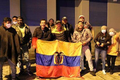 Tulcán se lanza a las calles para festejar el oro de Richard Carapaz
