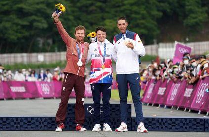 Pidcock campeón olímpico de bicicleta de montaña, el español Valero bronce