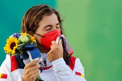 Chourraut se instala en el podio: plata y tercera medalla olímpica