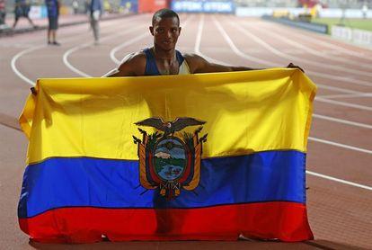 El TAS ratifica la suspensión del atleta ecuatoriano Alex Quiñónez