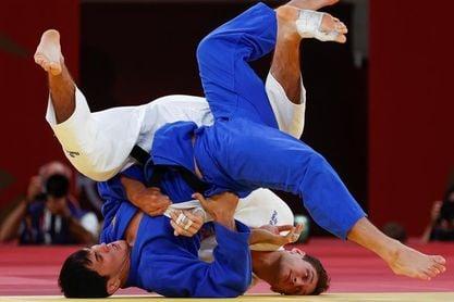 """La amarga caída del favorito del judo español Sherazadishvili: """"Estoy dolido"""""""