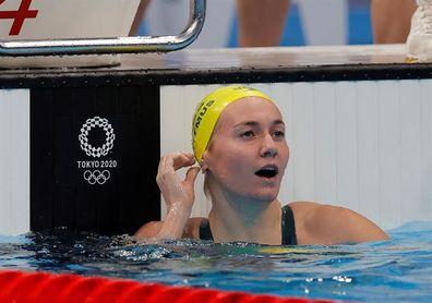 La australiana Titmus vuele a derrotar a Ledecky, que ni sube al podio