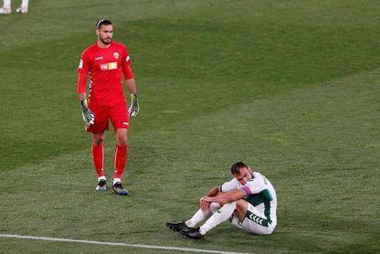 Gonzalo Verdú reaparece ocho semanas después de su operación de rodilla