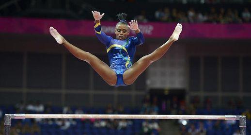 Ídolo de Rebeca Andrade recuerda que la gimnasia era vetada a los negros en Brasil