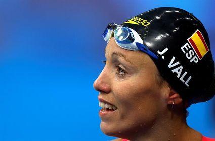 Jessica Vall vuelve a quedarse a las puertas de la final olímpica