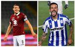 El Zenit, a por el vinculado Belotti y el Sevilla FC estrecha el cerco por Joselu