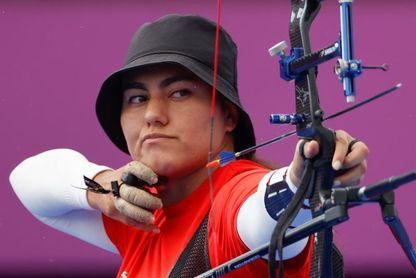Inmaculado pase de la mexicana Alejandra Valencia a cuartos de tiro con arco