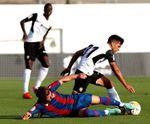 1-0. Alderete derriba el muro de Cárdenas y el Valencia doblega al Levante