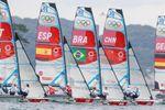 Falta de viento demora el inicio de la séptima jornada de competición