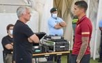 Habrá que esperar para ver debutar con el Sevilla a Lamela, foco de atención ante la Roma