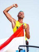 El neerlandés Kiran Badloe, oro en RS:X masculino