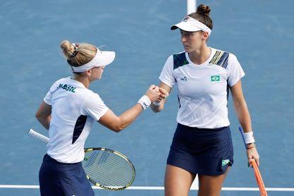 Las brasileñas Pigossi y Stefani se cuelgan el bronce en dobles