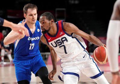 119-84. Un Durant de récord impulsa a EEUU para ser la mejor segunda