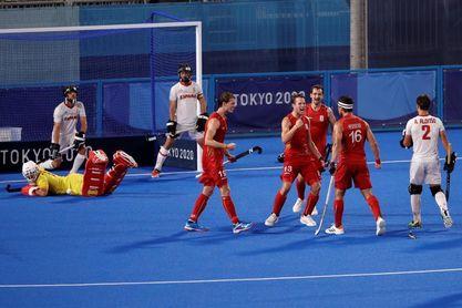 3-1. España se despide de Tokio ante el campeón del mundo