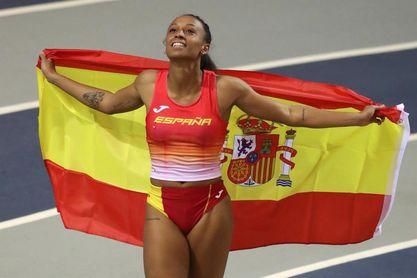 Ana Peleteiro gana el bronce con doble récord de España.