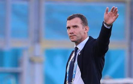 Shevchenko anuncia el término de su contrato como seleccionador de Ucrania