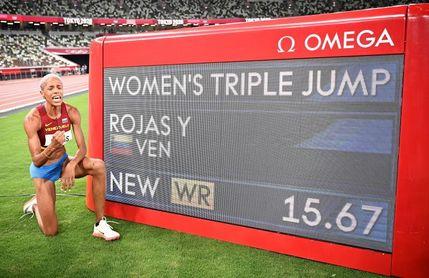 Andújar, la pista talismán de Yulimar Rojas, donde germinó el récord mundial