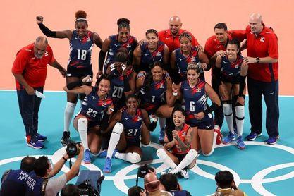 Las dominicanas cierran la fase de grupos con una victoria sobre Japón