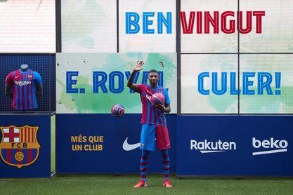 """Emerson: """"Llego al Barcelona para pelear por un puesto"""""""