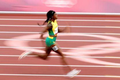 Elaine Thompson remata en 200 su segundo doblete olímpico