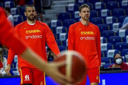Pau Gasol y Marc Gasol dejan la selección española
