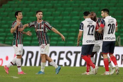 1-0. Fluminense elimina al Cerro y se medirá en cuartos con el Barcelona