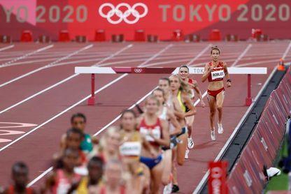 Carolina Robles decimocuarta en la final de 3.000 m obstáculos