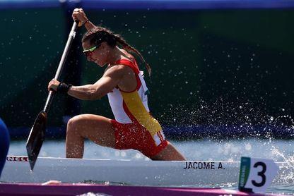 La gallega Antía Jácome se clasifica para semifinales de C1 200 metros