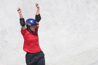La skater nipona Yosozumi gana el primer oro en la modalidad parque
