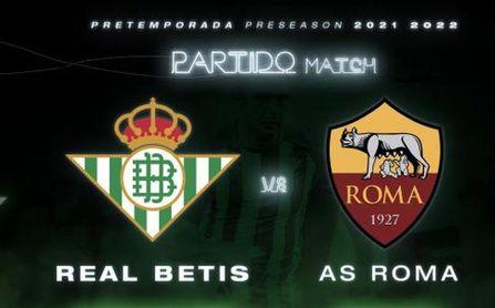 Real Betis-Roma: horario, canal y dónde ver en TV y online