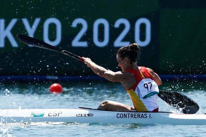 La española Isabel Contreras queda sin opción a medalla y disputará final C