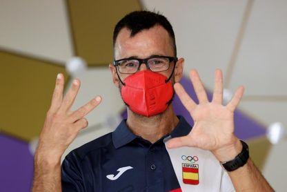 García Bragado bate el récord mundial de participaciones olímpicas