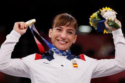 Sandra Sánchez corta el aire del Budokan con un kata perfecto que vale oro