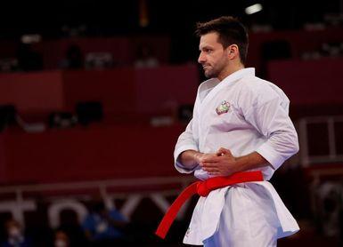 El venezolano Antonio Díaz disputará la medalla de bronce en katas