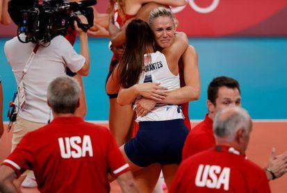 EE.UU., Brasil y Serbia, podio del voleibol femenino